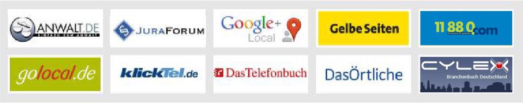 Anwalt Augsburg mit Bewertungen auf vielen Portalen