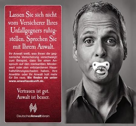 """DAV-Anzeige """"Schadensersatz"""""""