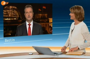 Claus Weselsky im Interview mit Marietta Slomka