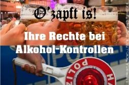 Fachanwalt Verkehrsrecht: Ihre Rechte bei Alkoholkontrollen