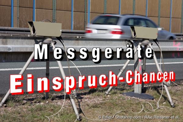 Verkehrsrecht: Messgeräte und Einspruch-Chancen