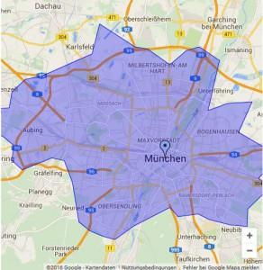 Blitzmarathon-Stadtgebiet-München