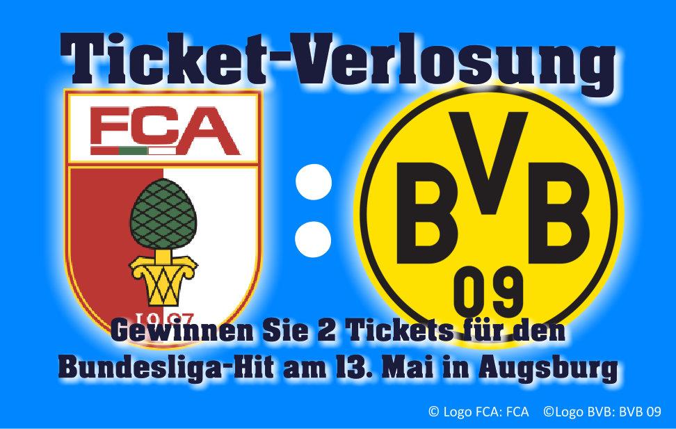 Ticket-Verlosung FCA-BVB