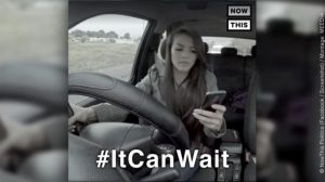 """Video-Screenshot """"Handy am Steuer"""""""
