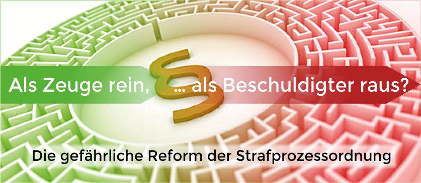 Anwalt Strafrecht Augsburg; Neue Aussagepflicht von Zeugen in Ermittlungsverfahren