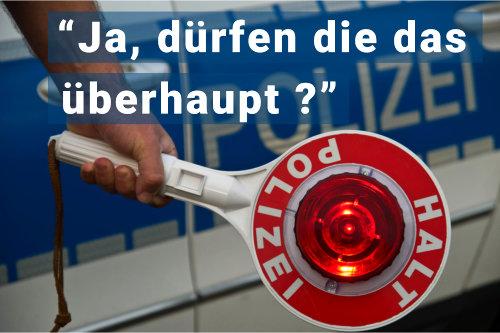 Fachanwalt Verkehrsrecht Augsburg: Verkehrsrecht, Polizeibefugnis, Verkehhrskontolle