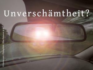 Fachanwalt Verkehrsrecht Augsburg: Wann darf man Lichthupen