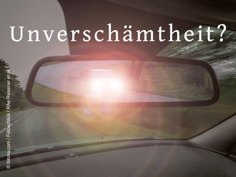 Fachanwalt Verkehrsrecht Augsburg: Wann Lichthupe einsetzen